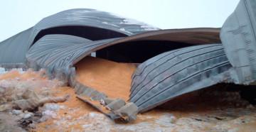 Ошибки проектирования бескаркасных ангаров